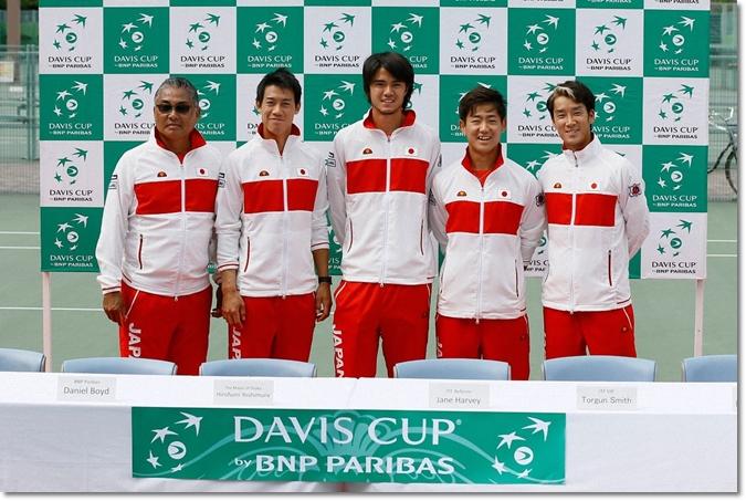 デビスカッププレーオフ2016 トップ
