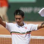 錦織圭!全仏オープン2017の3回戦ヘヨン・チュン情報!