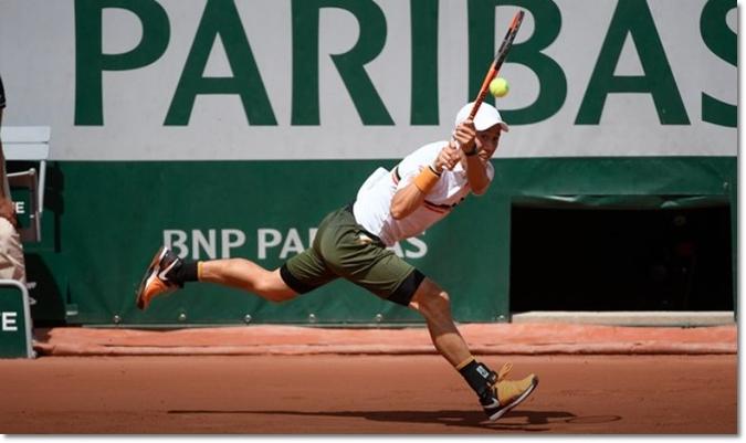 全仏オープン2017 準々決勝 錦織圭