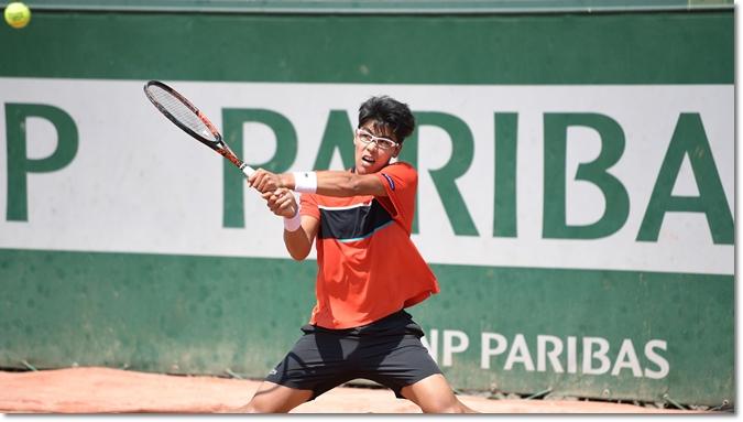 全仏オープン2017 3回戦 ヘヨン・チュン