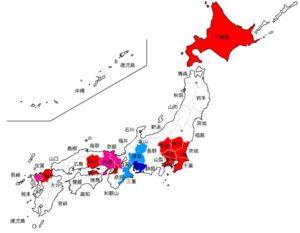 テレビ東京 視聴可能地域